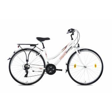 """Csepel Landrider 28"""" női kerékpár - Fehér 2021"""