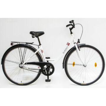 """Csepel Blackwood Ambition 28"""" kerékpár - Fehér Új szín"""