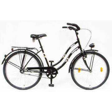 Csepel Blackwood Cruiser női kerékpár - Fekete