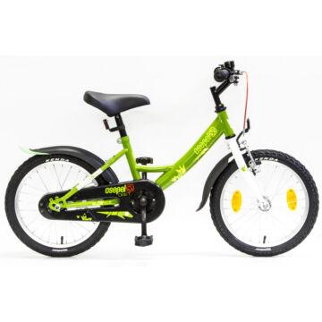 """Csepel Drift 16"""" gyermek kerékpár - Zöld"""