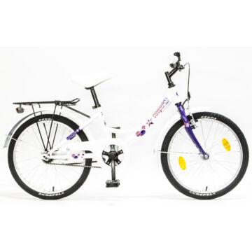 """Csepel Hawaii 20"""" gyermek kerékpár - Fehér"""