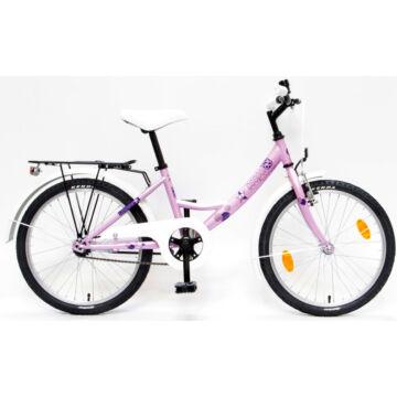 """Csepel Hawaii 20"""" gyermek kerékpár - Rózsaszín"""