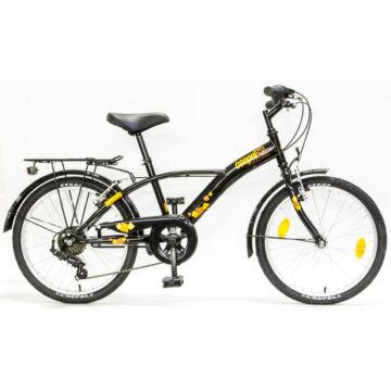 """Csepel Mustang 20"""" gyermek kerékpár - Fekete"""