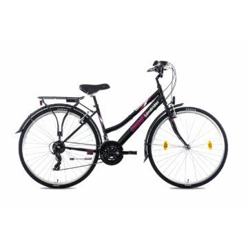 """Csepel Landrider 28"""" női kerékpár - Fekete 2021"""