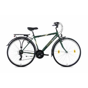 """Csepel Landrider 28"""" férfi kerékpár - Zöld"""