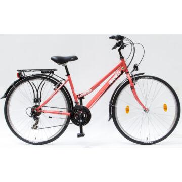 """Csepel Landrider 28"""" női kerékpár - Korall"""