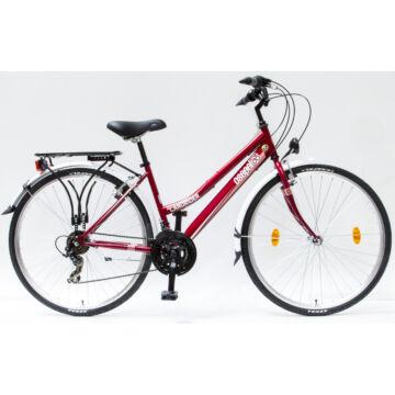 """Csepel Landrider 28"""" női kerékpár - Piros"""