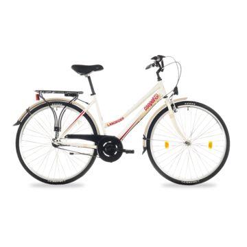 """Csepel Landrider 28"""" kerékpár, 3 seb. agyváltó - KrémFehér"""