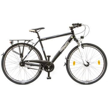"""Csepel Spring 200 28"""" 7 seb agyváltós férfi kerékpár - Fekete"""