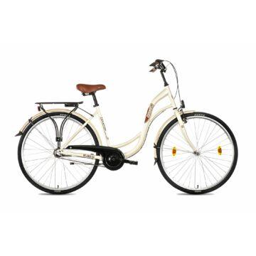 Csepel Velence kerékpár, 3 seb. agyváltó - Krém