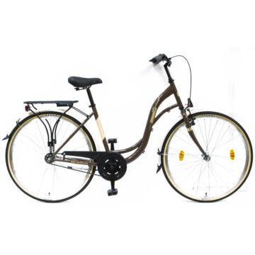 Csepel Velence kerékpár - Barna