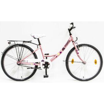 """Csepel Hawaii 24"""" gyermek kerékpár - Fehér"""