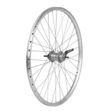 Kerékpár hátsó duplafalú kontrafékes kerék - 28 x 1,75