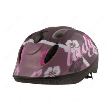 Kerékpáros gyermek fejvédő  - Pink