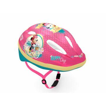 Kerékpáros gyermek fejvédő - Minnie egérrel