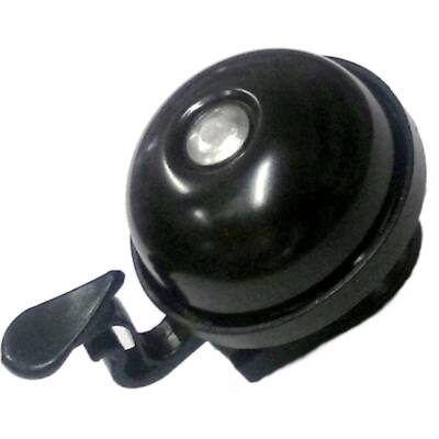 Kerékpár csengő acél - fekete