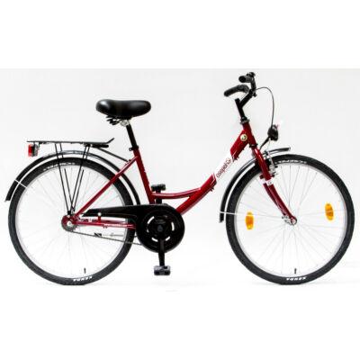 """Csepel Budapest 24"""" Gyermek kerékpár - Púder"""