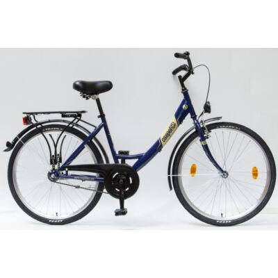 """Csepel Budapest A 26"""" felnőtt kerékpár - Kék"""