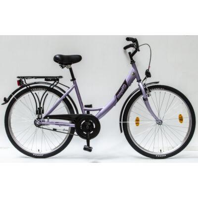 """Csepel Budapest A 26"""" felnőtt kerékpár - Lila"""