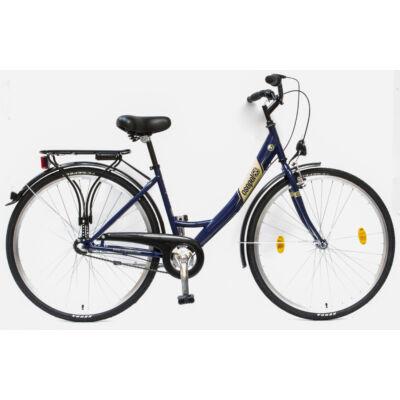 """Csepel Budapest A 28"""" felnőtt kerékpár, 3 seb. agyváltó - Kék"""