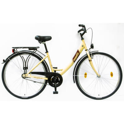 """Csepel Budapest A 28"""" felnőtt kerékpár - Krém"""