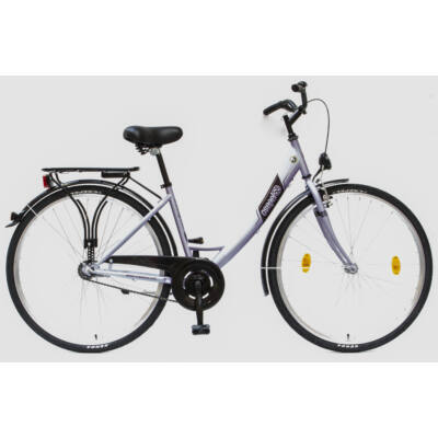 """Csepel Budapest A 28"""" felnőtt kerékpár - Lila"""