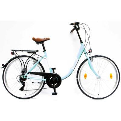 """Csepel Budapest B 26"""" felnőtt kerékpár, 7 sebesség - Türkiz"""