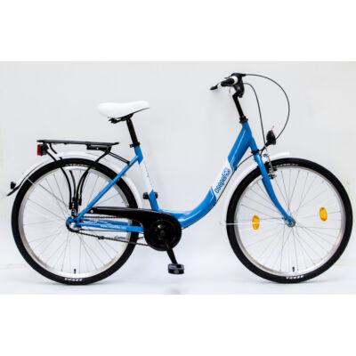"""Csepel Budapest B 26"""" felnőtt kerékpár, 3 seb. agyváltó - Kék"""