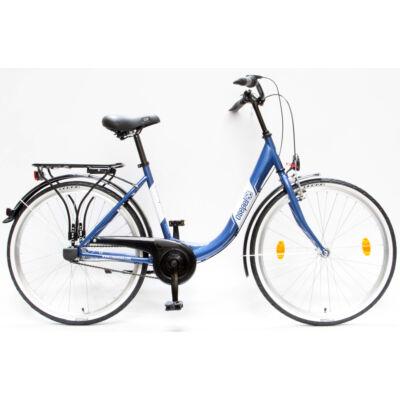 """Csepel Budapest B 26"""" felnőtt kerékpár, 3 seb. agyváltó - Sötétkék"""