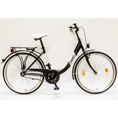 """Csepel Budapest B 26"""" felnőtt kerékpár - Fekete"""