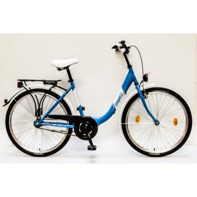 """Csepel Budapest B 26"""" felnőtt kerékpár - Kék"""