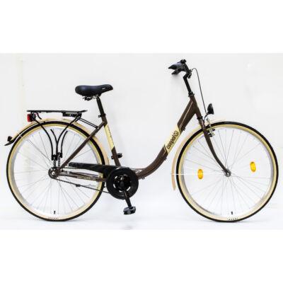 """Csepel Budapest B 28"""" felnőtt kerékpár - Barna"""