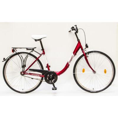 """Csepel Budapest B 28"""" felnőtt kerékpár - Piros"""