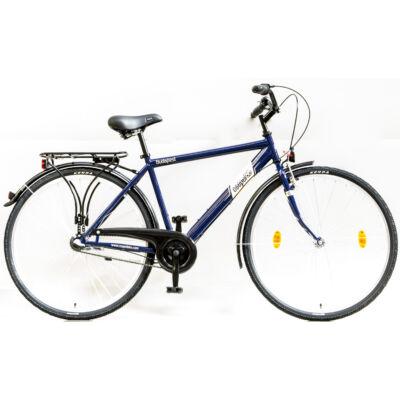 """Csepel Budapest 28"""" felnőtt Férfi kerékpár, 3 seb. agyváltó - Kék"""