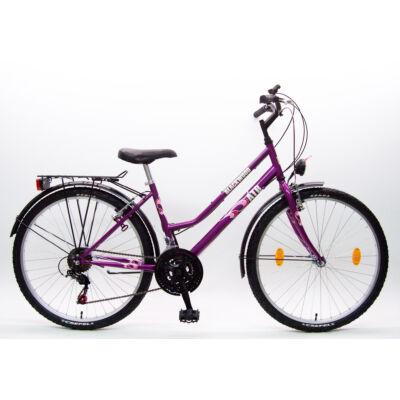 """Csepel Blackwood ATB 26"""" kerékpár - Lila"""