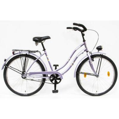 Csepel Blackwood Cruiser női kerékpár - Lila