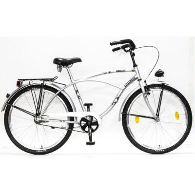 Csepel Blackwood Cruiser férfi kerékpár - Ezüst