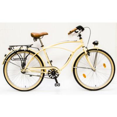 Csepel Cruiser férfi kerékpár - Krém