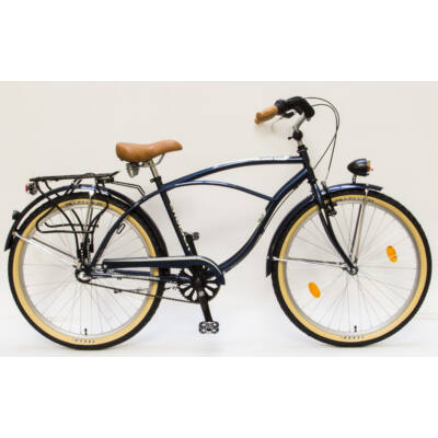 Csepel Cruiser férfi kerékpár, 3 seb. agyváltó - Kék