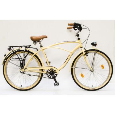 Csepel Cruiser férfi kerékpár, 3 seb. agyváltó - Krém