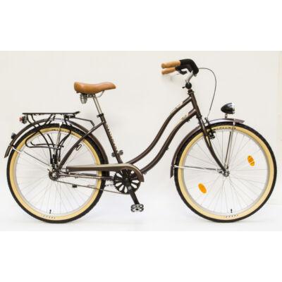 Csepel Cruiser kerékpár - Barna