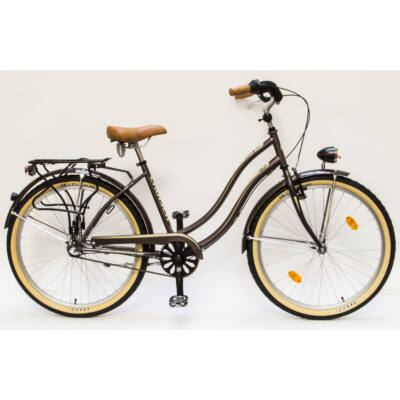 Csepel Cruiser kerékpár, 3 seb. agyváltó - Fehér