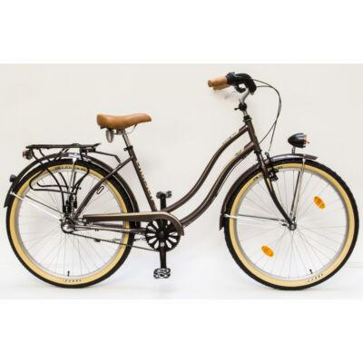 Csepel Cruiser kerékpár, 3 seb. agyváltó - Barna