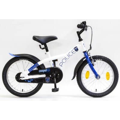 """Csepel Police 16"""" gyermek kerékpár - Fehér"""