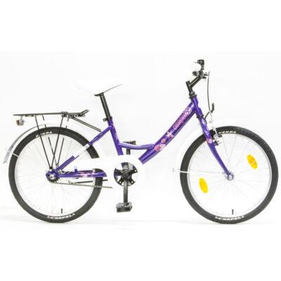 """Csepel Hawaii 20"""" gyermek kerékpár - Lila"""