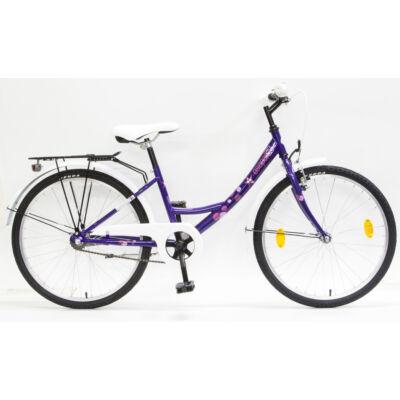 """Csepel Hawaii 24"""" gyermek kerékpár - Lila"""