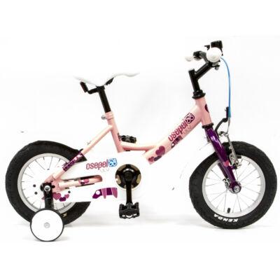 """Csepel Lily 12"""" gyermek kerékpár - Rózsaszín"""