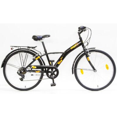 """Csepel Mustang 24"""" gyermek kerékpár - Fekete"""