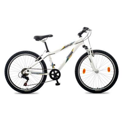 """Csepel Zero 24"""" teleszkópos gyermek kerékpár - Fehér"""