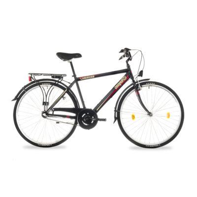 """Csepel Landrider 28"""" férfi kerékpár, 3 seb. agyváltó - Fekete"""
